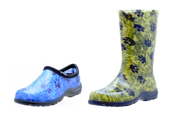 sloggers, pet, vet, paw prints, waterproof boots, waterproof shoes, waterproof boots, rain boots, rain shoes, made in the usa, los angeles, california